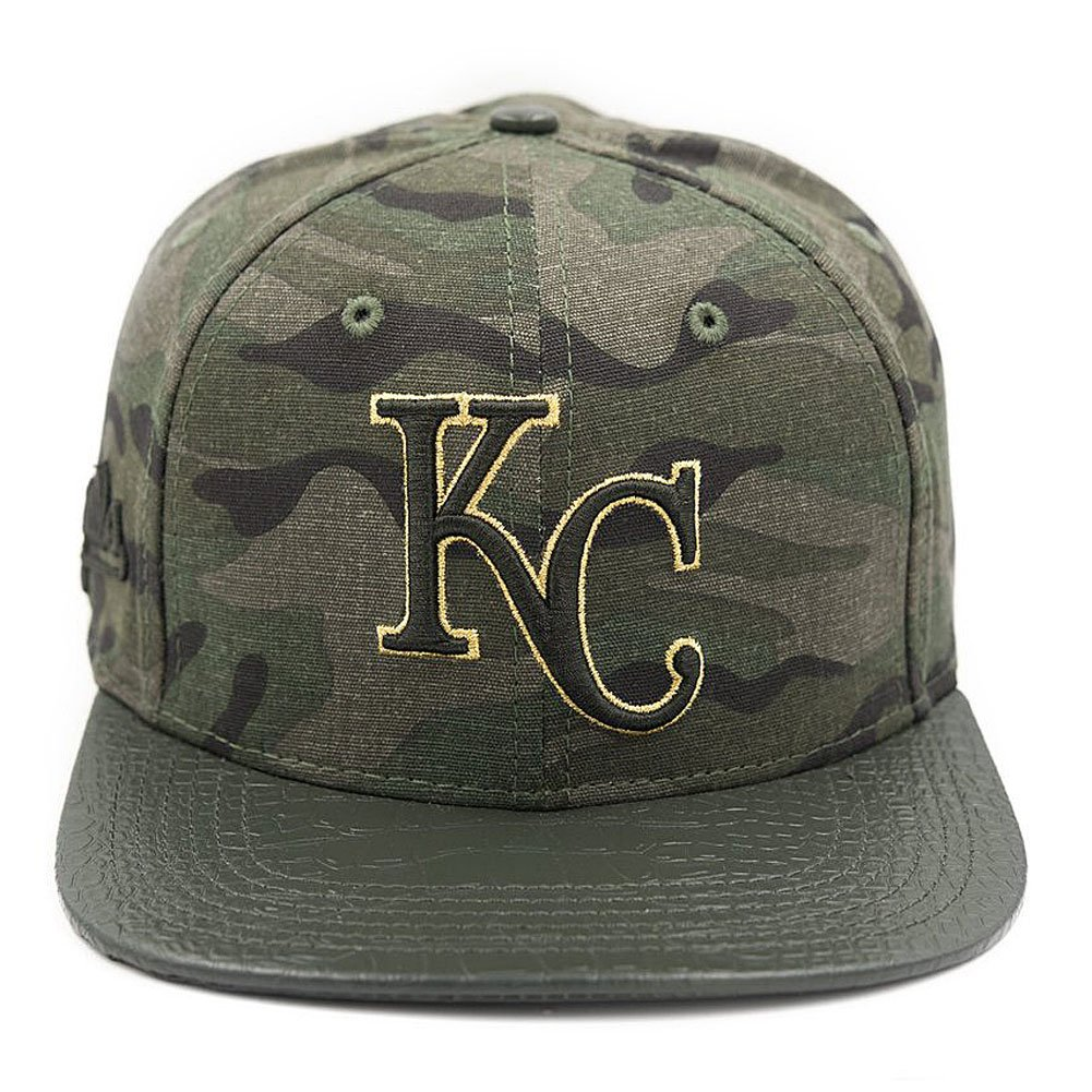 Pro Standard Men s MLB Kansas City Royals Buckle Back Hat W Pins Camo Green  at Amazon Men s Clothing store  401ca5212d5