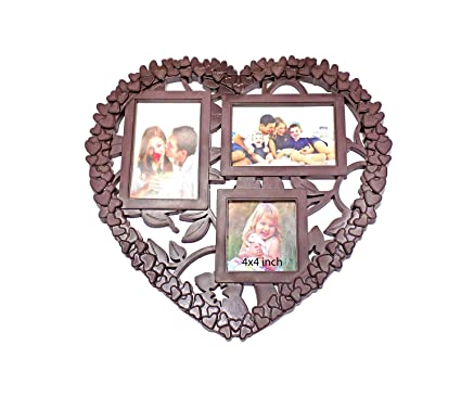 Buy Baal Gift Decorative Wall Hanging Heart Shape Collage Picture
