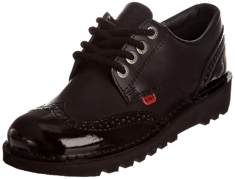 Kickers Kick Lo Brogue 110689 - Zapatos Mujer 40 EU|Negro