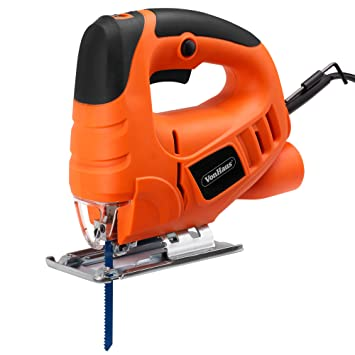 Vonhaus compact 400w electric jigsaw variable speeds splinter vonhaus compact 400w electric jigsaw variable speeds splinter guard dust extraction port greentooth Gallery