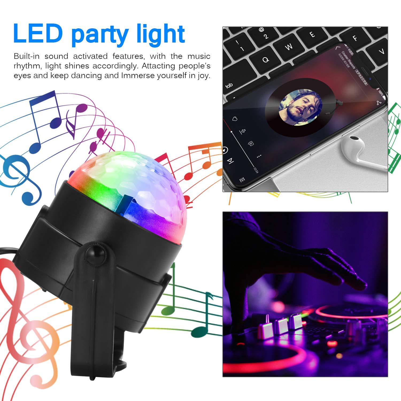 festa da ballo festa in discoteca AOZBZ Sound Party Party Flash Party Lampade da tavolo con luci a LED per party in discoteca