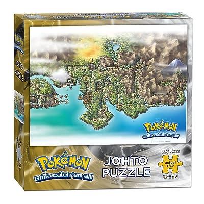 USAOPOLY Pokemon Johto Puzzle (550 Piece): Toys & Games