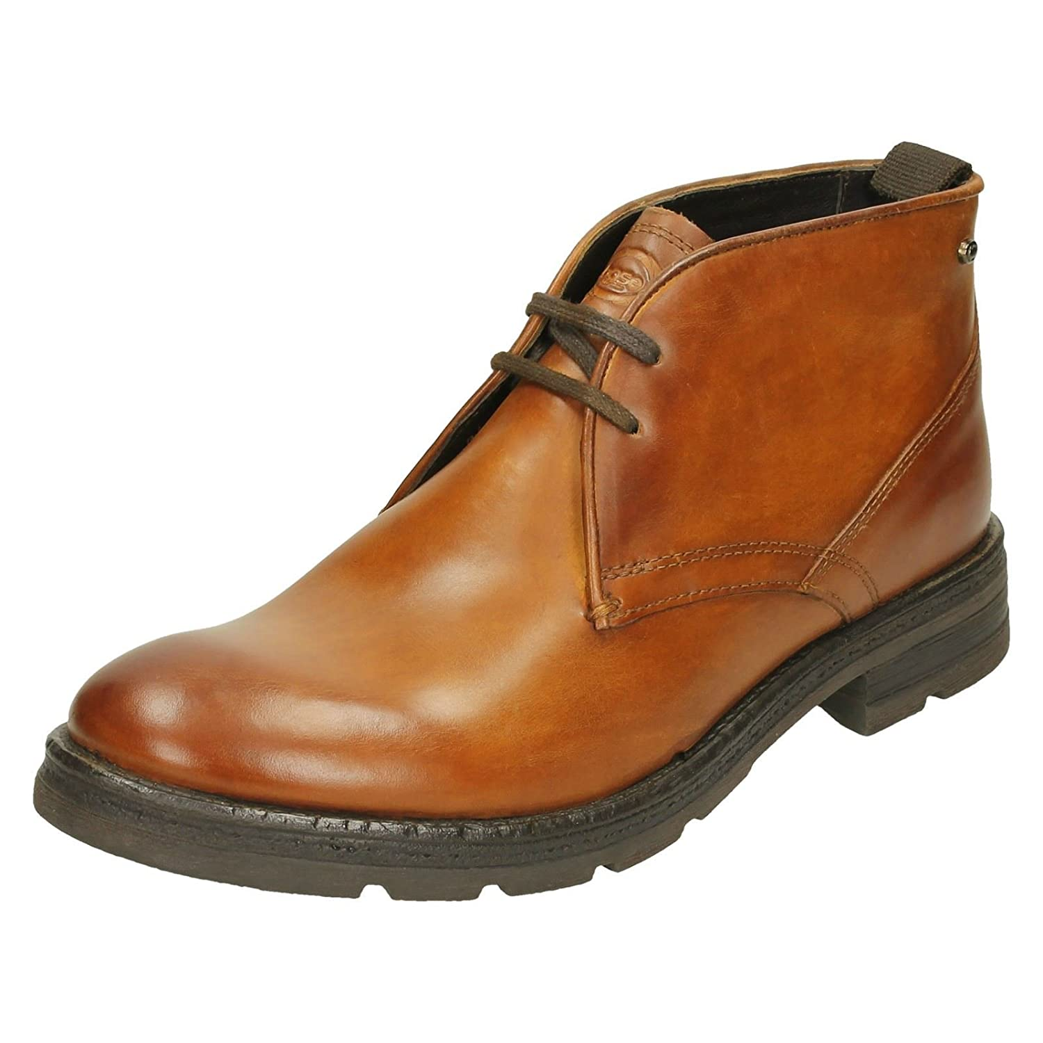 Base London Herren Archer Stiefel  Braun  Taille Unique Washed Tan (Brown)