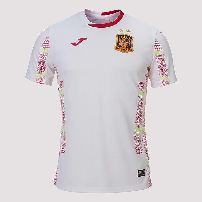 Joma España Fútbol Sala Segunda Equipación 2020, Camiseta, Blanco: Amazon.es: Deportes y aire libre
