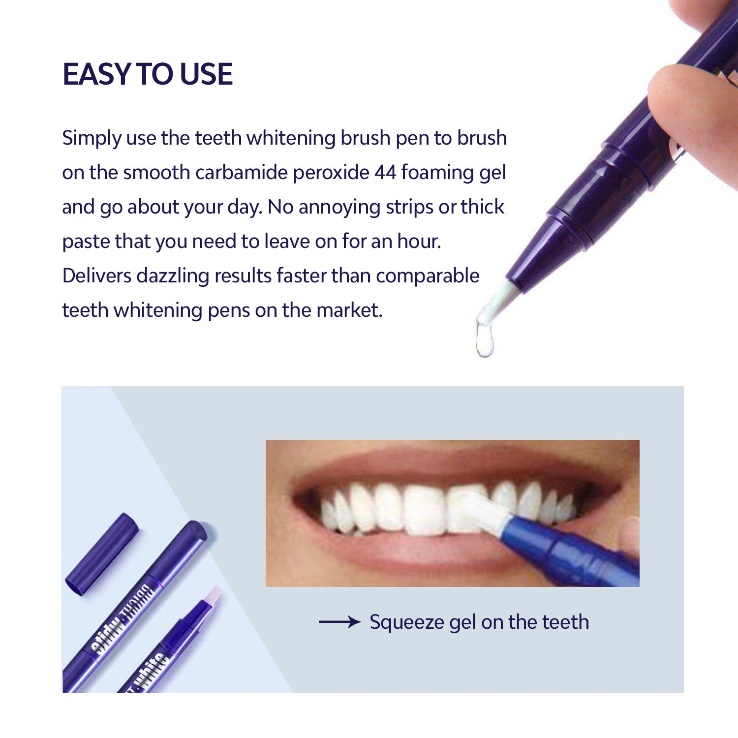 Amazon Com Asavea Teeth Whitening Pen 2 Pack Safe 35 Carbamide