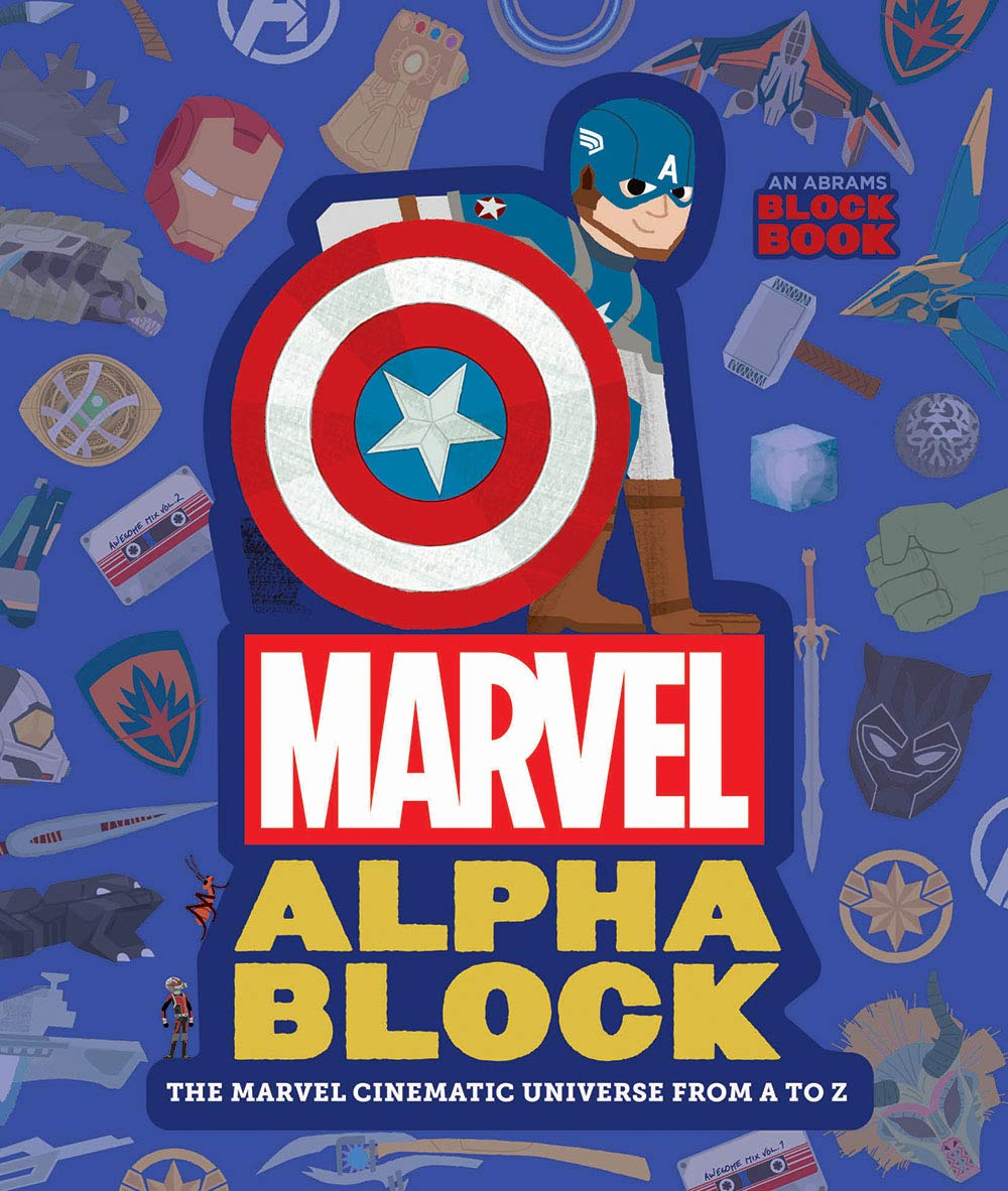 Marvel Alphablock: The Marvel Cinematic Universe - Cover