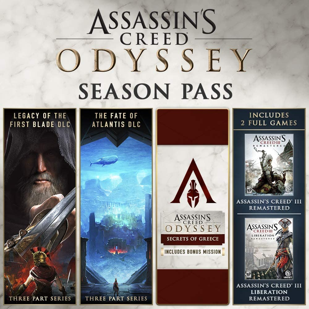 Amazon com: Assassin's Creed Odyssey - Gold Edition [Online