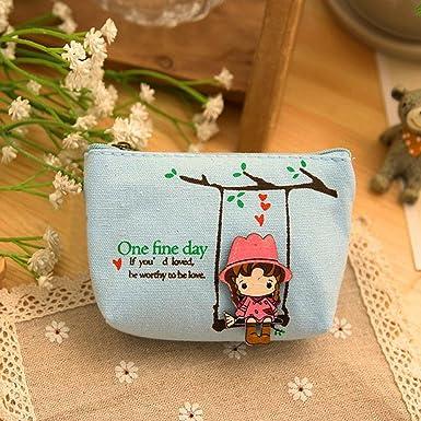Amazon.com: Bolsas de lona pequeñas, lona bonita y adorable ...