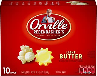 product image for Orville Redenbacher Light Butter Popcorn, 10-Count (Pack of 3)