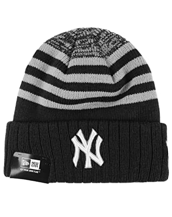 660024c2d41 Image Unavailable. Image not available for. Color  New Era MLB New York  Yankees Striped Knit Hat