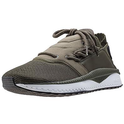 sale retailer 8c496 57634 PUMA Mens Sneakers Tsugi Shinsei Training Shoes-Olive-4.5