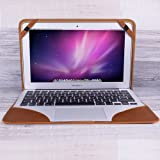 """Apple Macbook 11"""" Burkley Cover Handmade and Genuine Leather for Apple Macbook 11"""" (Floater Tan Leather)"""