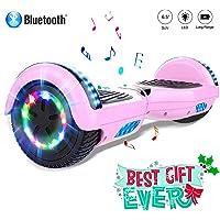Colorway 6,5 Inch Hover Scooter Board Hoverboard Smart Scooter Balance Board Self Balance Board – LED lichten - Bluetooth - EU-veiligheidsnorm