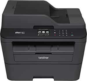 Impressora Monocromática Laser, Brother MFCL2740DW, Preto