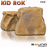 Kid RoK Outdoor Rock Speaker Canyon Sandstone by Sound Appeal