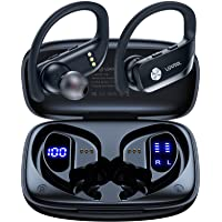 $22 » Wireless Earbuds Bluetooth Headphones 48hrs Play Back Sport Earphones with LED Display…
