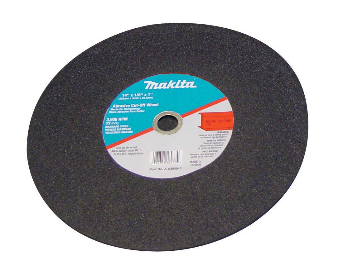 A-93859-5 14-Inch Cut-Off Wheel, 5-Pack by Makita