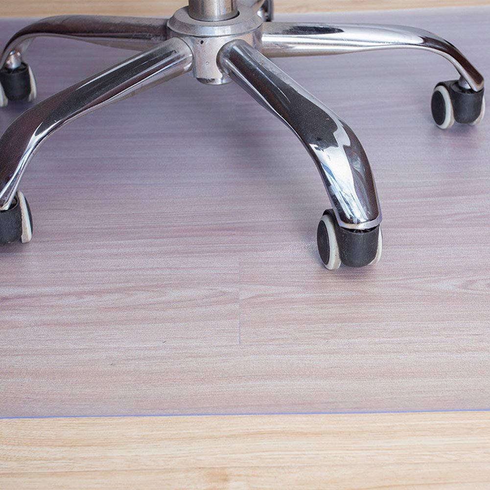 Q/&Z Bodenschutzmatte Transparent,1.5mm B/üRostuhl Stuhlmatte F/üR Laminat Parkett Fliesen Und Hartb/öDen Bodenmatte Schutzmatte Ohne BPA /& Phthalate 4 Gr/ö/ßEn W/äHlbar