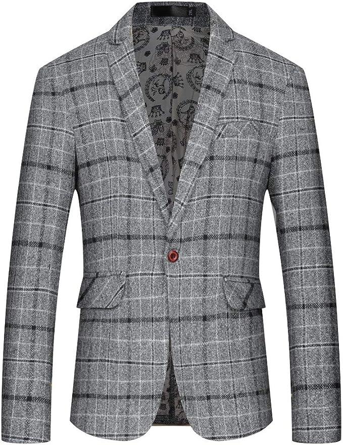 Kankanluck Men Wedding Blazer Slim Sequin Banquet Pocket Tuxedo Suits Jacket