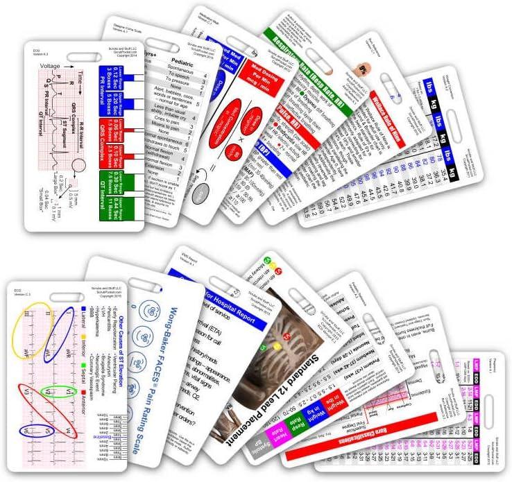 Complete EMS Vertical Badge Card Set - 13 Cards