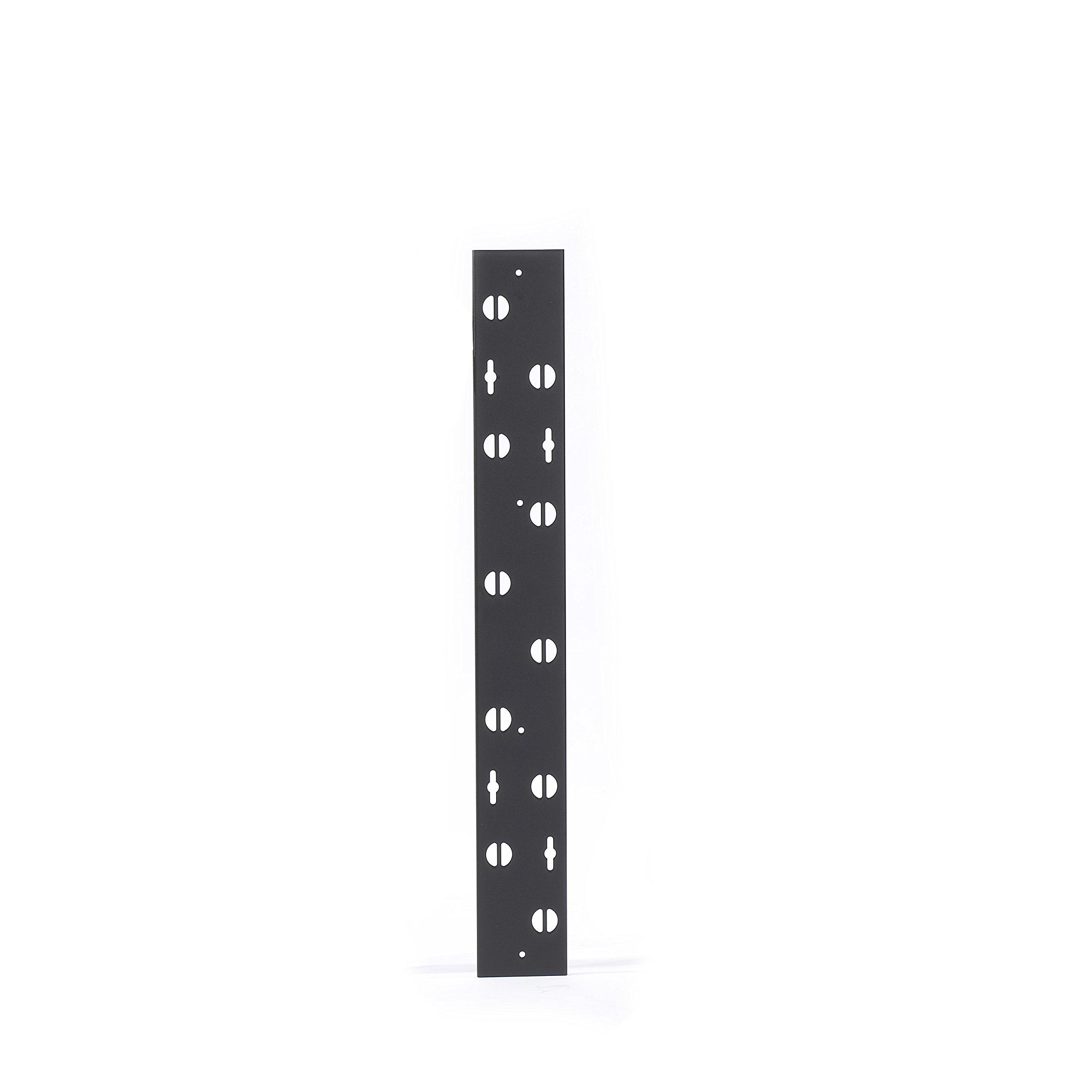 Black Box EC24U Vertical Lacing Bar For 48'' H Cabinet