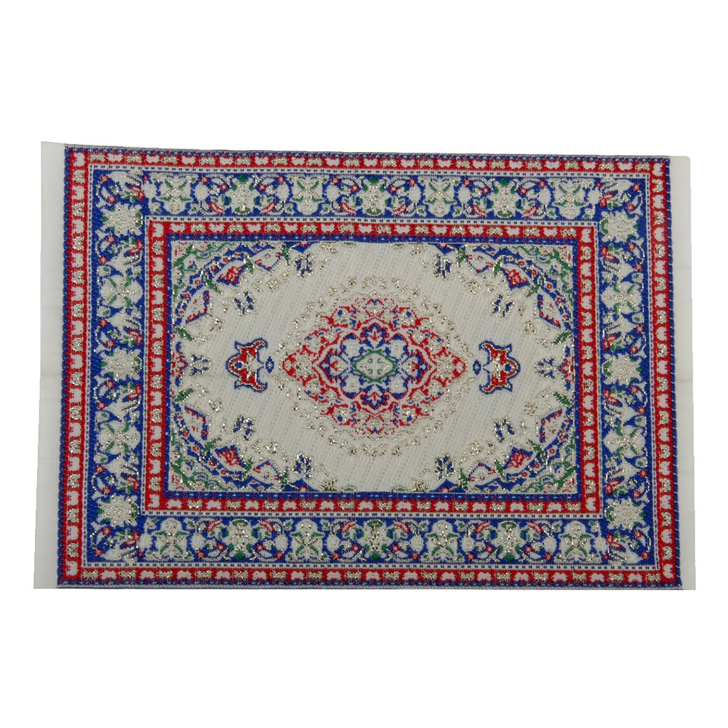 European Upscale Decoration Floor Rug Carpet Elegant Stylish Multicolored Generic