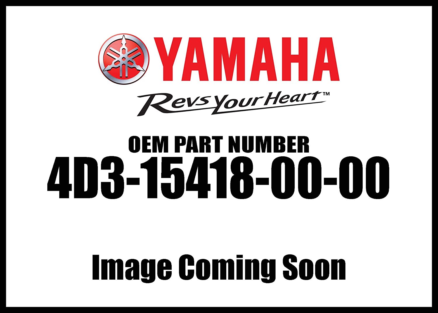 New Yamaha OEM 4D3-15418-00-00 COVER CHAIN CASE 4D3154180000