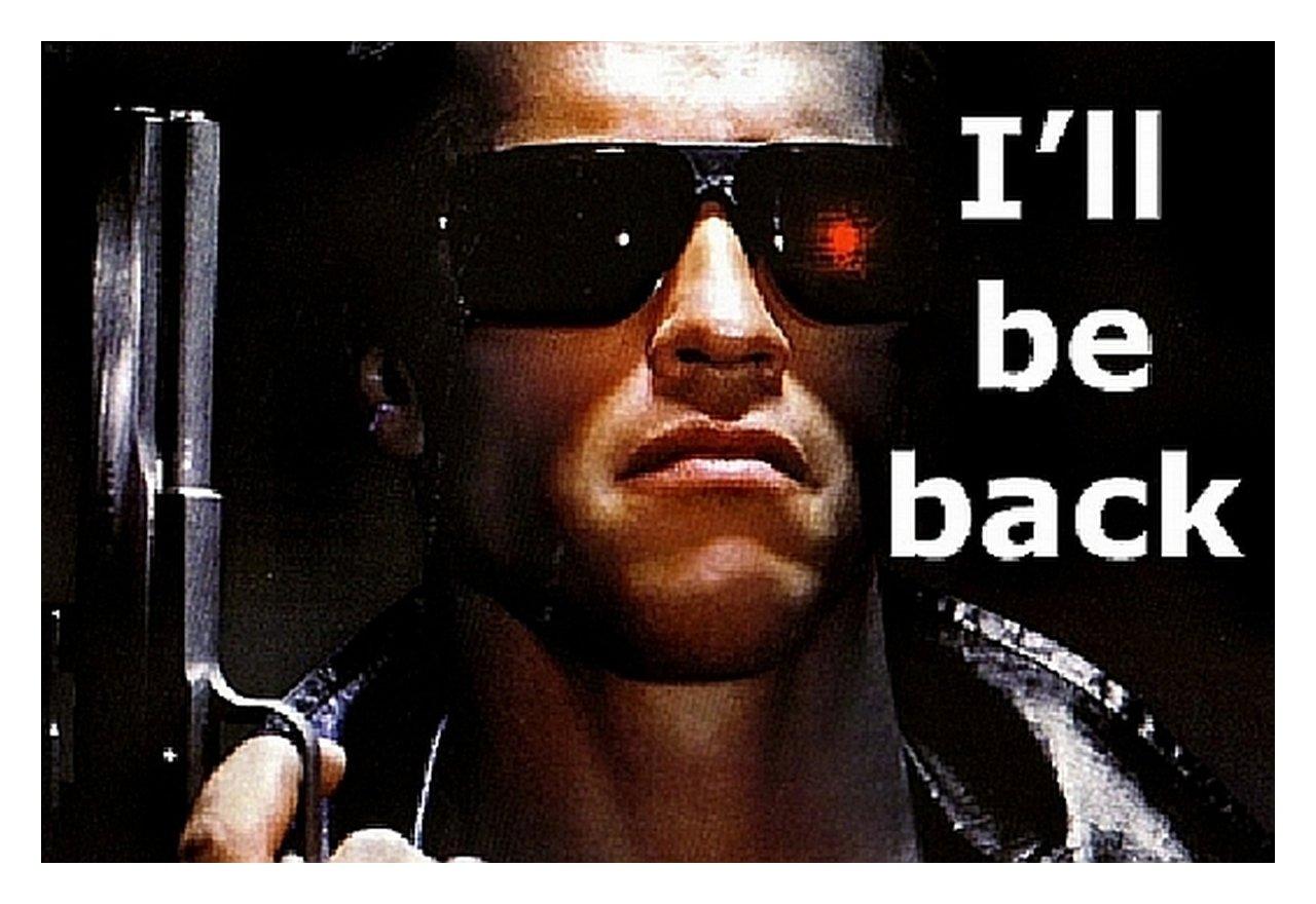 Amazoncom Movie Quote Fridge Magnet Arnold Schwarzenegger In The