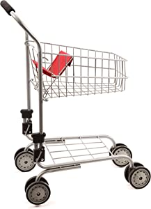 Mommy & Me Toy Shopping Cart, Pretend Play - Grocery and Supermarket Food Cart, for Toddlers, Kids