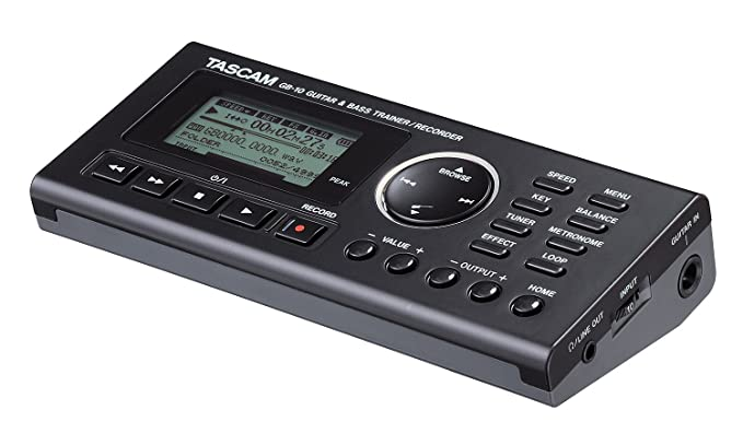 amazon com tascam gb10 guitar bass trainer with recorder musical rh amazon com