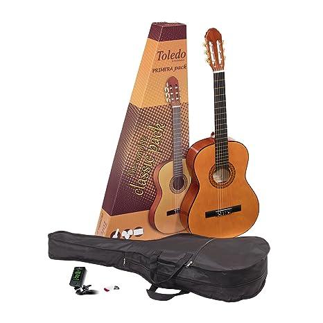 Guitarra clásica Toledo Primera 34-NT 3/4 Guitar Pack con bolsa ...
