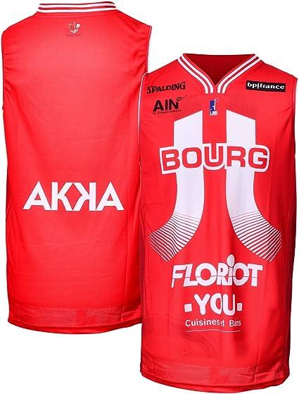 JL Bourg Short Officiel Ext/érieur 2018-2019 Basketball Mixte