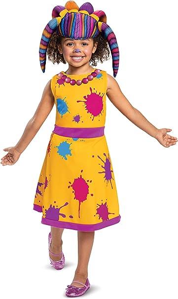 Disfraz de Zoe Walker para niños, Amarillo, Large (Ize/4-6X ...