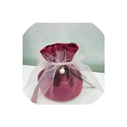 2019 más reciente de franela de joyería bolsas de regalo de ...
