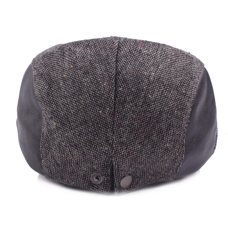 Men Women Beret Caps Unisex Vintage Retro Flat Newsboy Ivy Driver Colored Dots Duckbill Hats