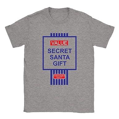 d922084d Value Secret Santa Gift Mens T-Shirt Funny Joke Parody: Amazon.co.uk:  Clothing