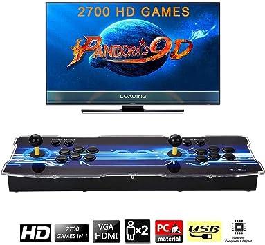 Amazon.es: [Arcade Game Console 2700] Pandora Box 9D 2700 Juegos ...