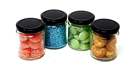 Buy Ash Roh Food Storage Canister Round Glass Jar Container For