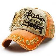 Kuyou Vintage Baseball Mütze Caps Distressed Sport Trucker Hat