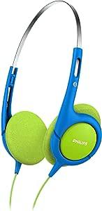 Philips SHK1030 Kids Headphones, Blue/Green
