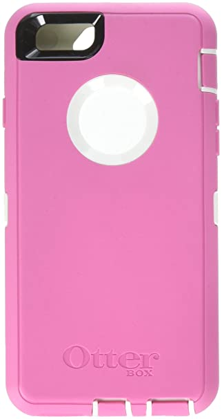 newest 8db4a cf75b iPhone 6s Case - OtterBox Defender Series Case for Apple iPhone 6/6s (Case  Only - Holster Not Included) (Hibiscus Pink - White)