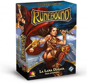 Asmodee Italia - Runebound expansión la Hoja Dorada Juego de Mesa con espléndidas miniaturas, Color, 9063: Amazon.es: Juguetes y juegos