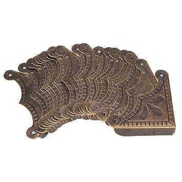 dn antique decorative box corner protectors 39x9mm desk edge cover pack of 20 - Decorative Box