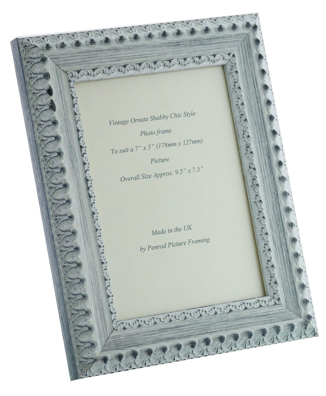Amazon.de: Penrod Picture Framing Handgefertigt, Weiß-Bilderrahmen ...