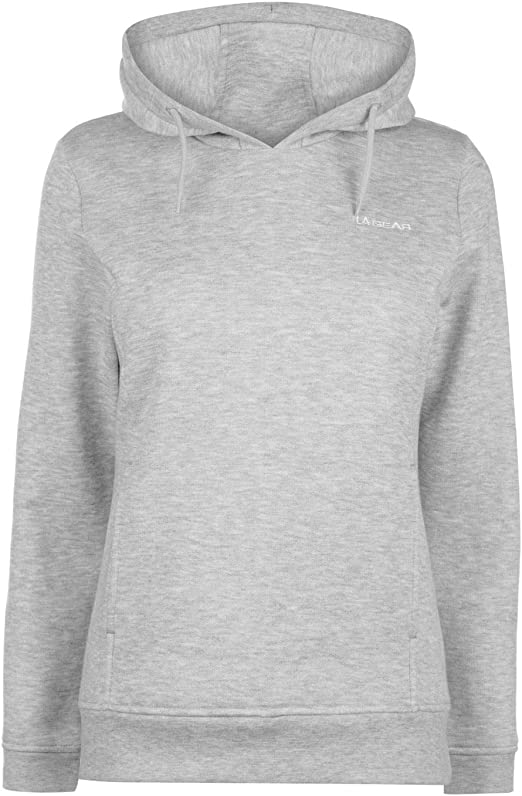 LA Gear Womens OTH Hoody Ladies Long Sleeve Hoodie Sweat Top
