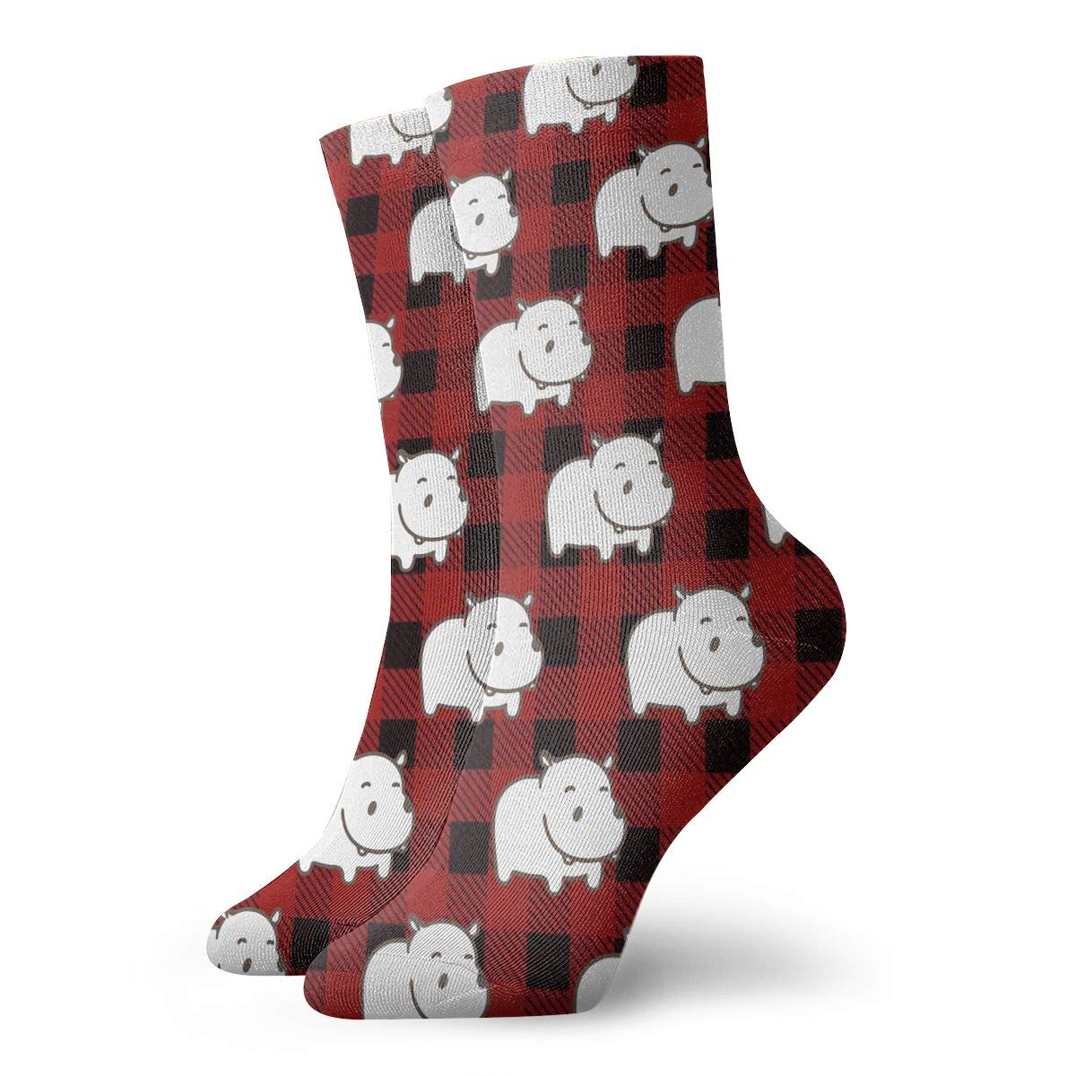 Baby Hippo Unisex Funny Casual Crew Socks Athletic Socks For Boys Girls Kids Teenagers
