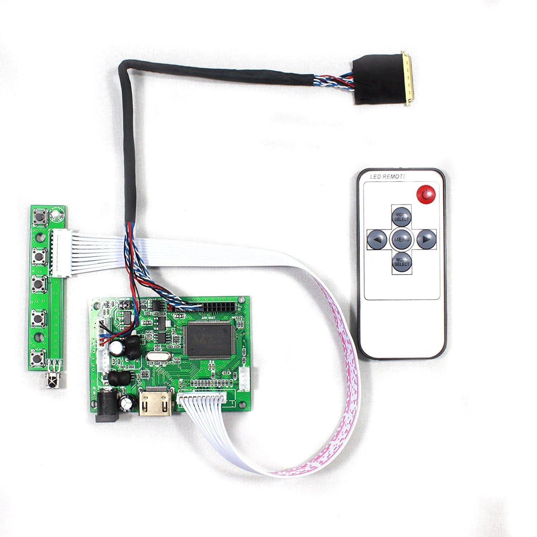 VSDISPLAY HDMI LCD Controller Board work for 7'' 10.1'' B101EW05 HSD101PWW1 1280x800 LED 40Pin LCD Panel