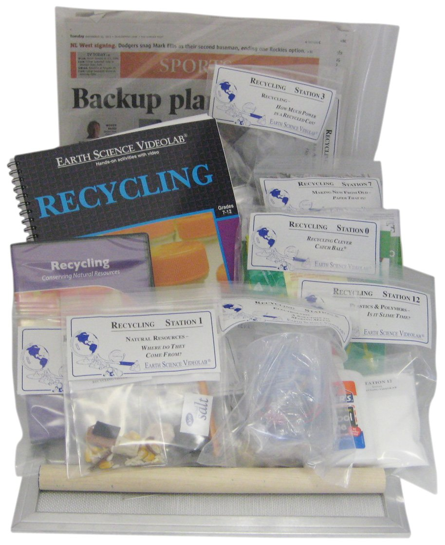 American Educational Recycling Earth Science Videolab with DVD