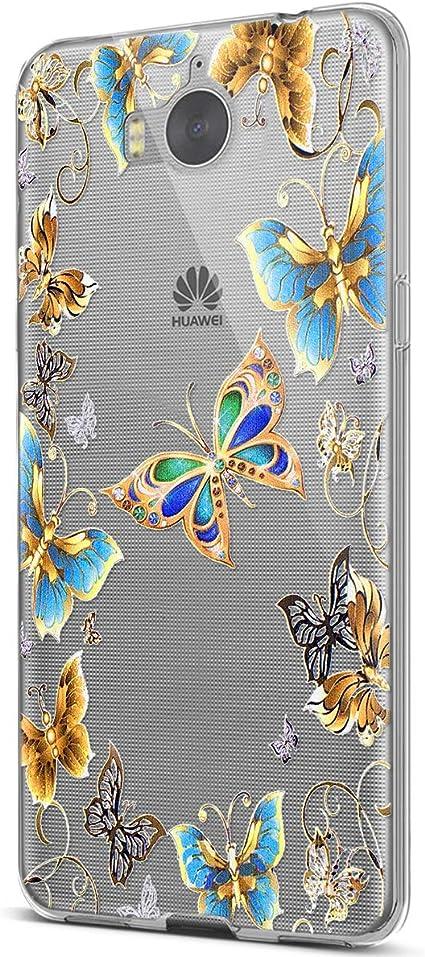 Compatible avec Coque Huawei Y5 2017,Étui Huawei Y6 2017,Coque ...