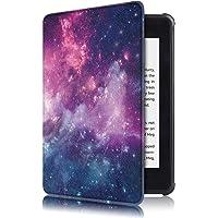 Case para Novo Kindle Paperwhite 4 de 10.ª Geração Função Liga/Desliga (Não compatível com o modelo antigo do kindle paperwhite 3, 2, 1) (Nebula)